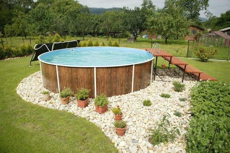 Deco Piscine Hors Sol Bois - Deco piscine hors sol