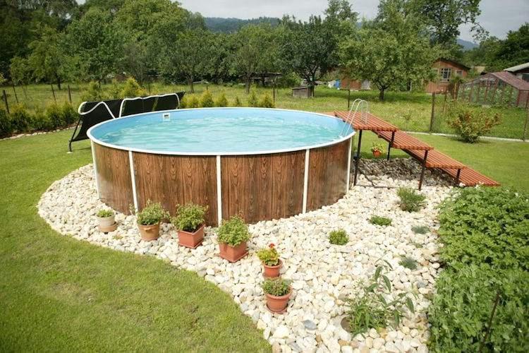deco piscine hors sol