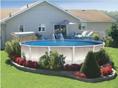 deco piscine hors terre
