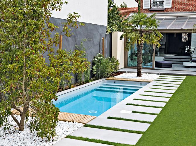 deco piscine jardin