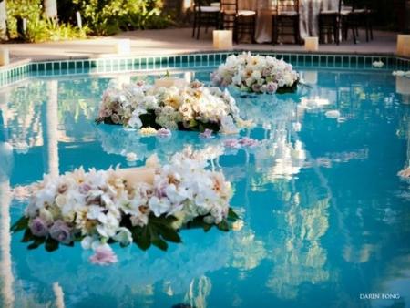 deco piscine mariage