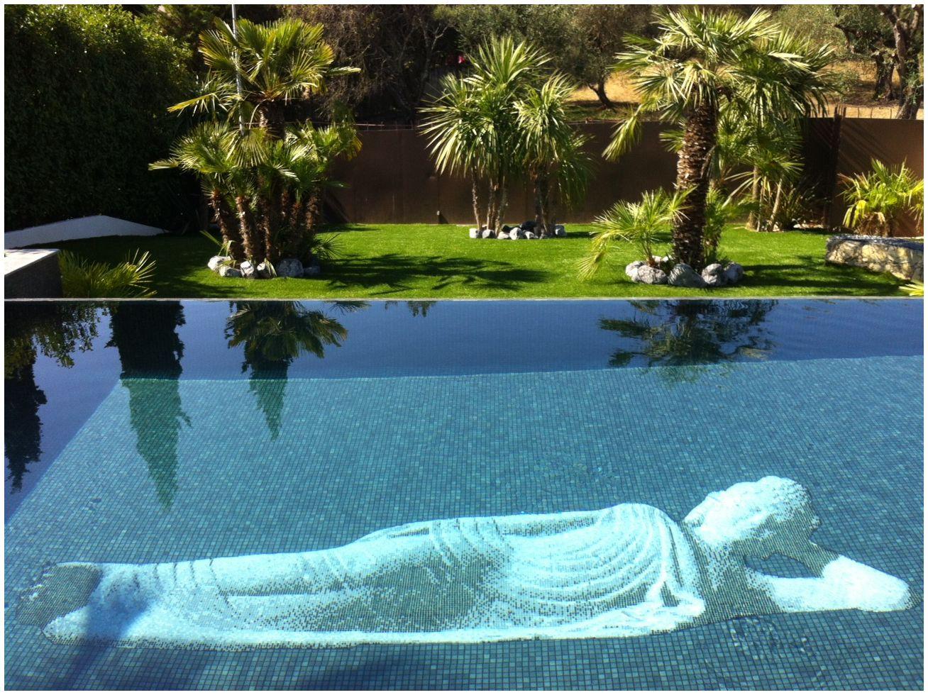 Deco piscine mosaique - Deco autour de la piscine ...
