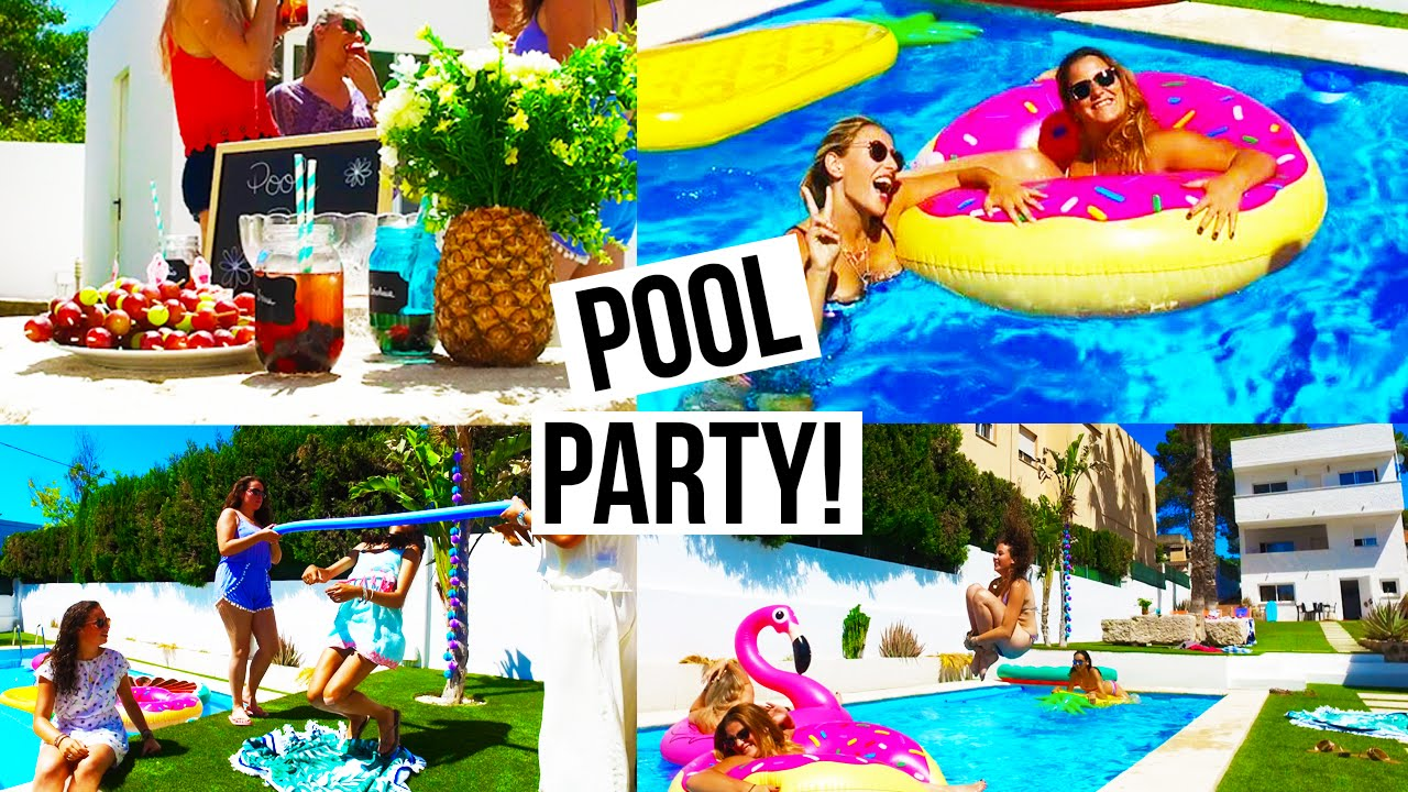 deco piscine party
