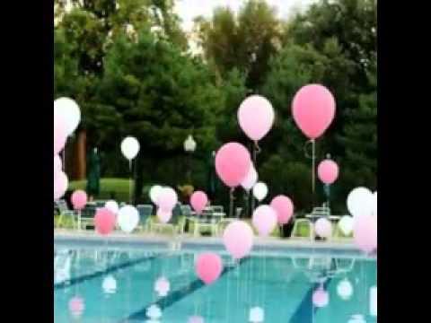 deco piscine party
