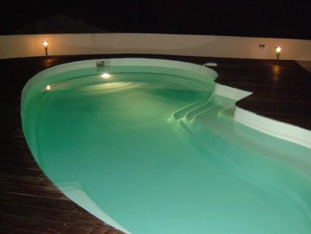 eclairage piscine 8x4