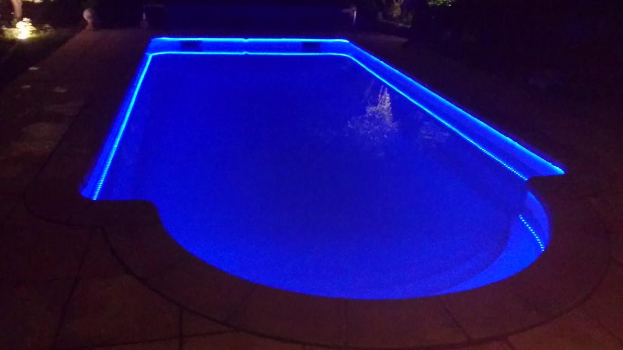 eclairage piscine a led