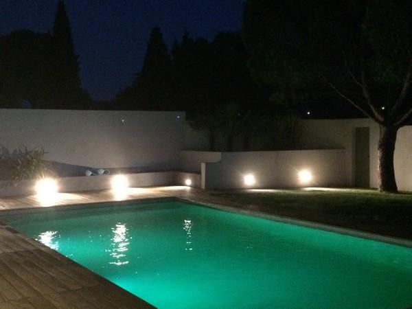 eclairage piscine apres construction