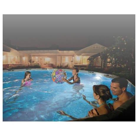 eclairage piscine auchan