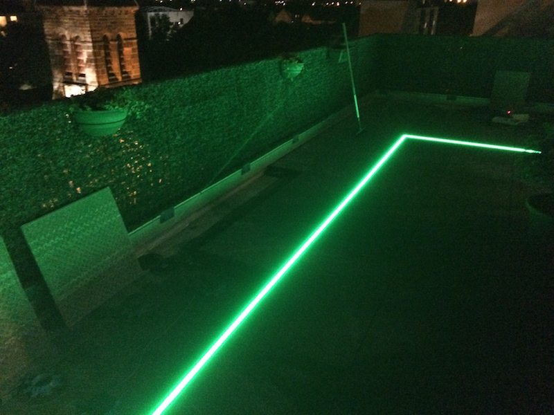 eclairage piscine bandeau led