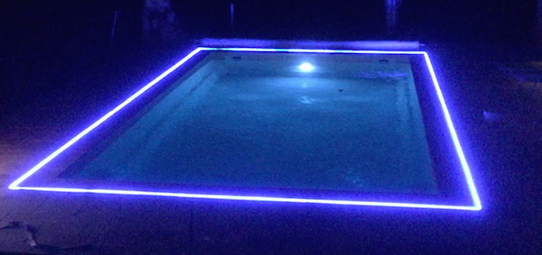 eclairage piscine bandeau led. Black Bedroom Furniture Sets. Home Design Ideas