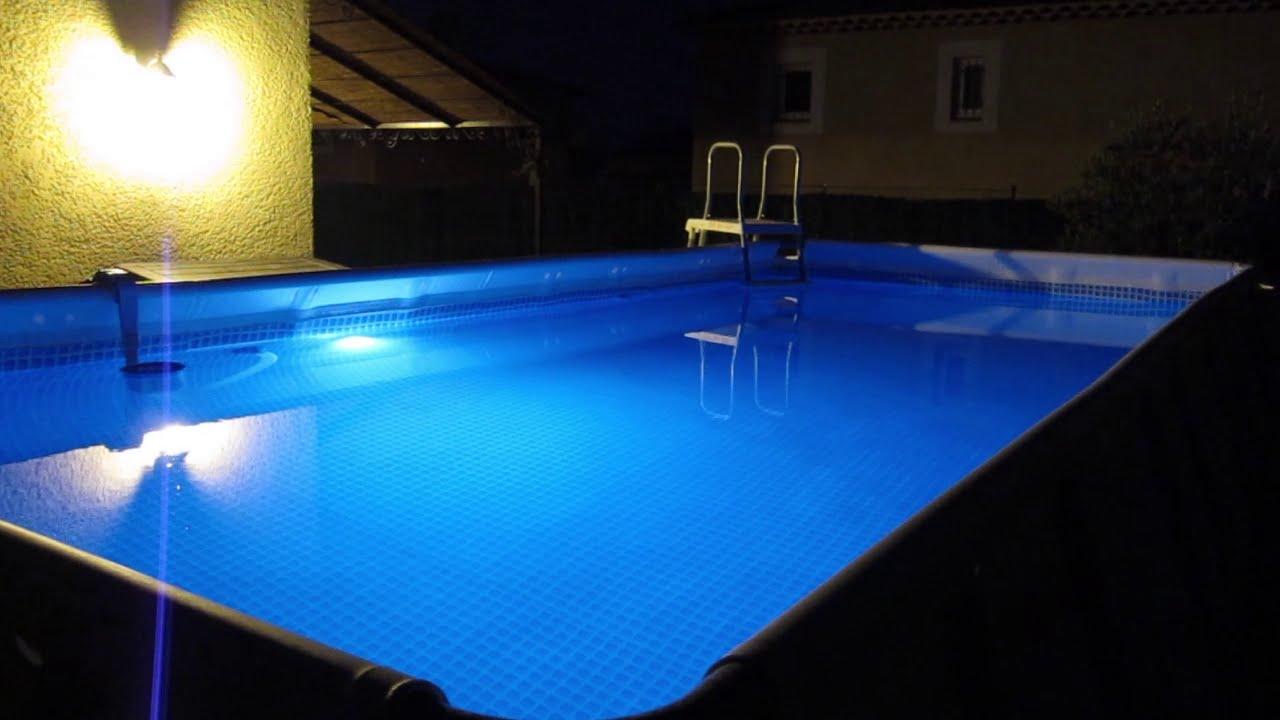 eclairage piscine bestway