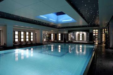 eclairage piscine casablanca