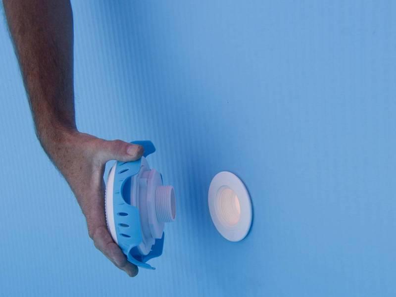 eclairage piscine hors sol gre. Black Bedroom Furniture Sets. Home Design Ideas