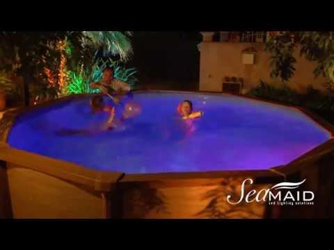 eclairage piscine hors terre