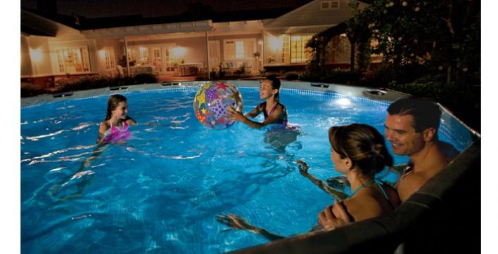 eclairage piscine induction. Black Bedroom Furniture Sets. Home Design Ideas
