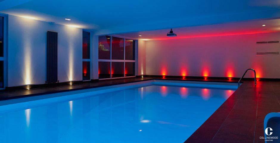 eclairage piscine interieure. Black Bedroom Furniture Sets. Home Design Ideas