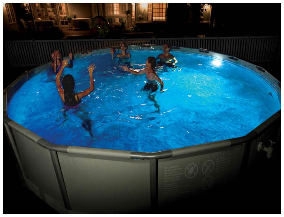 eclairage piscine intex. Black Bedroom Furniture Sets. Home Design Ideas