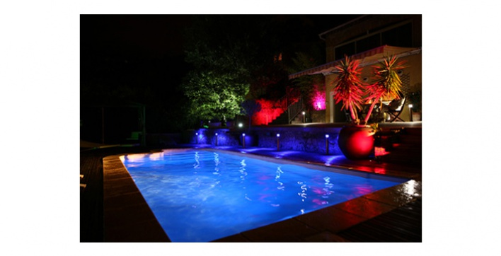 eclairage piscine led