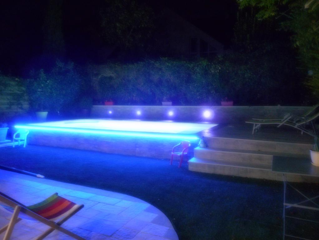 eclairage piscine nantes