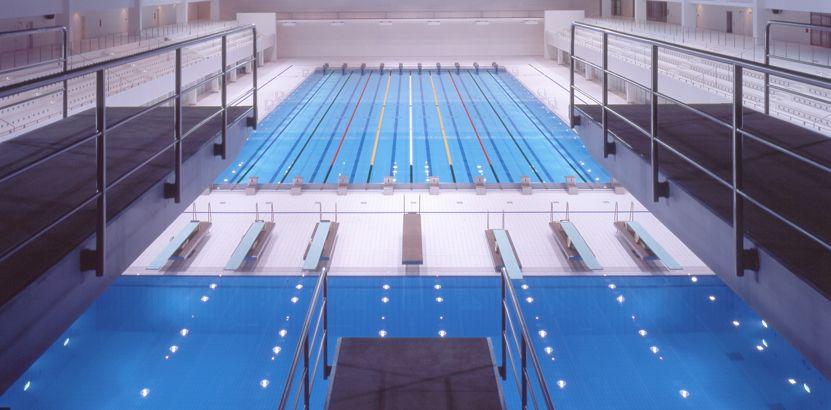 eclairage piscine olympique