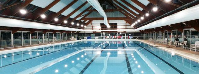 eclairage piscine publique