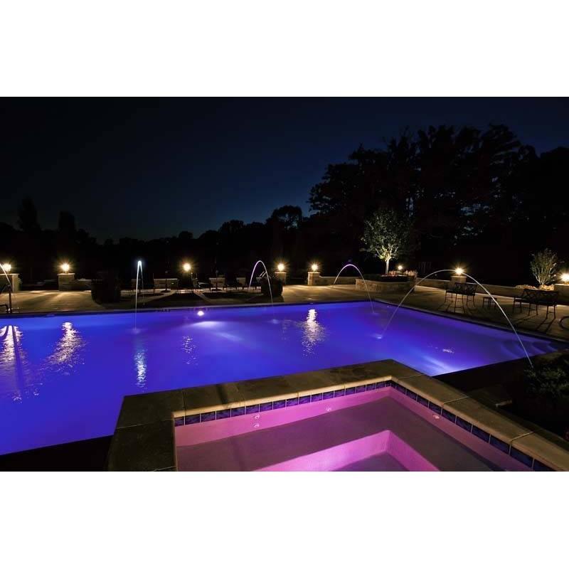 eclairage piscine rgb