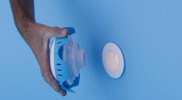 eclairage piscine sur batterie