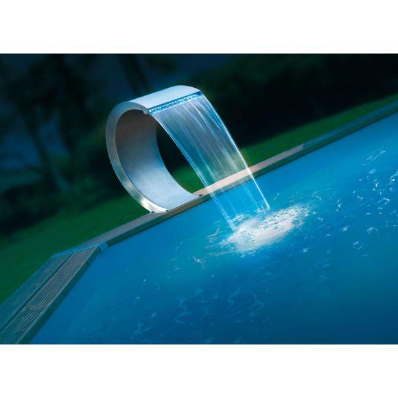 fontaine piscine led
