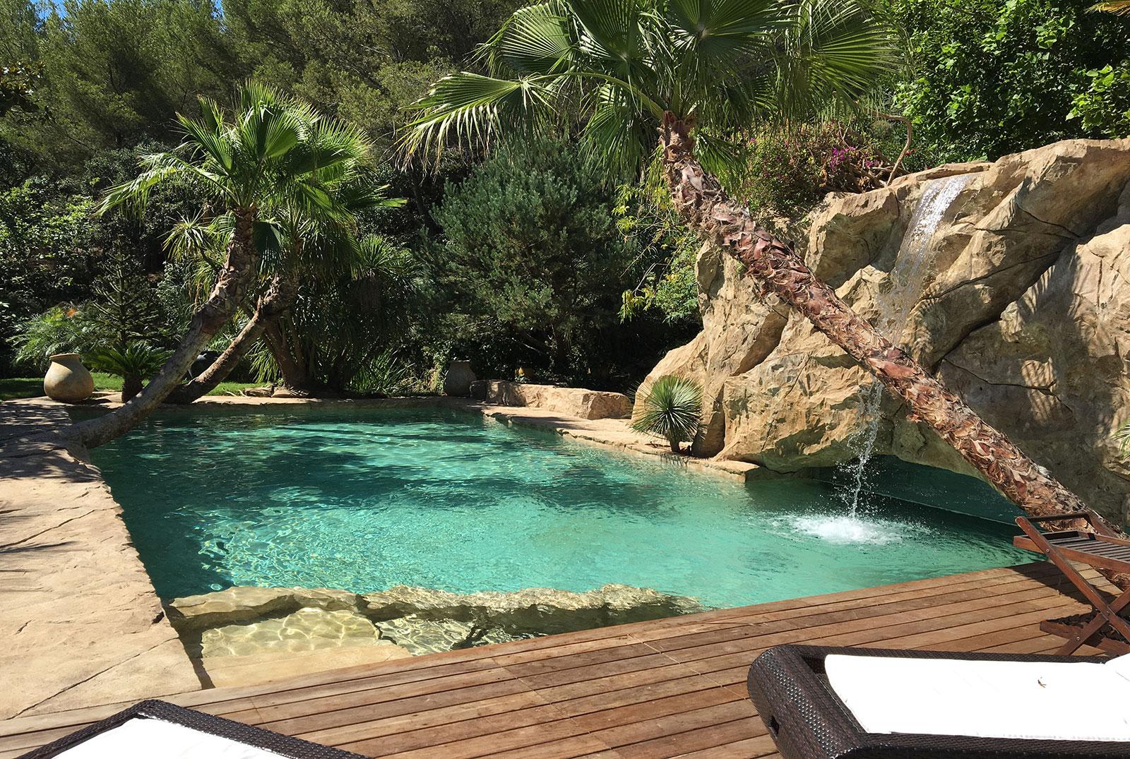 Fontaine piscine naturelle - Piscine ecologique prix ...
