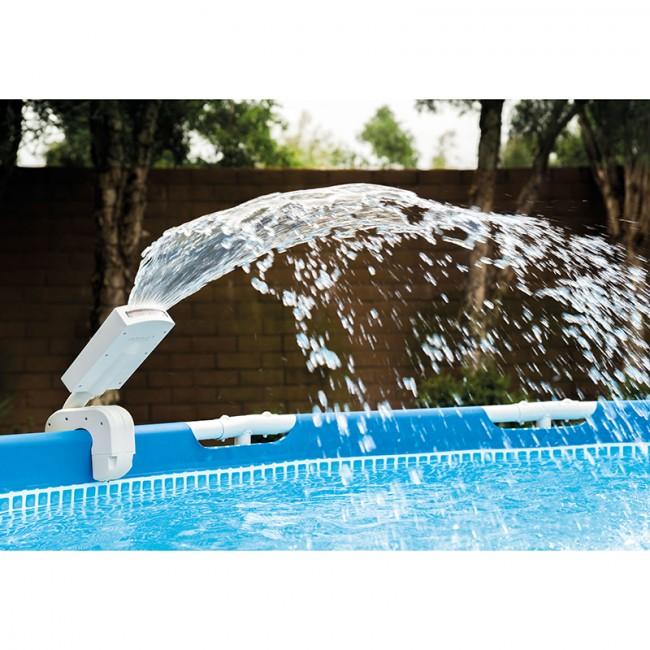 fontaine piscine tubulaire