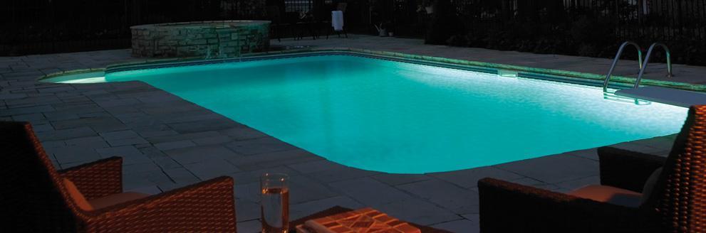 lumiere piscine creusee