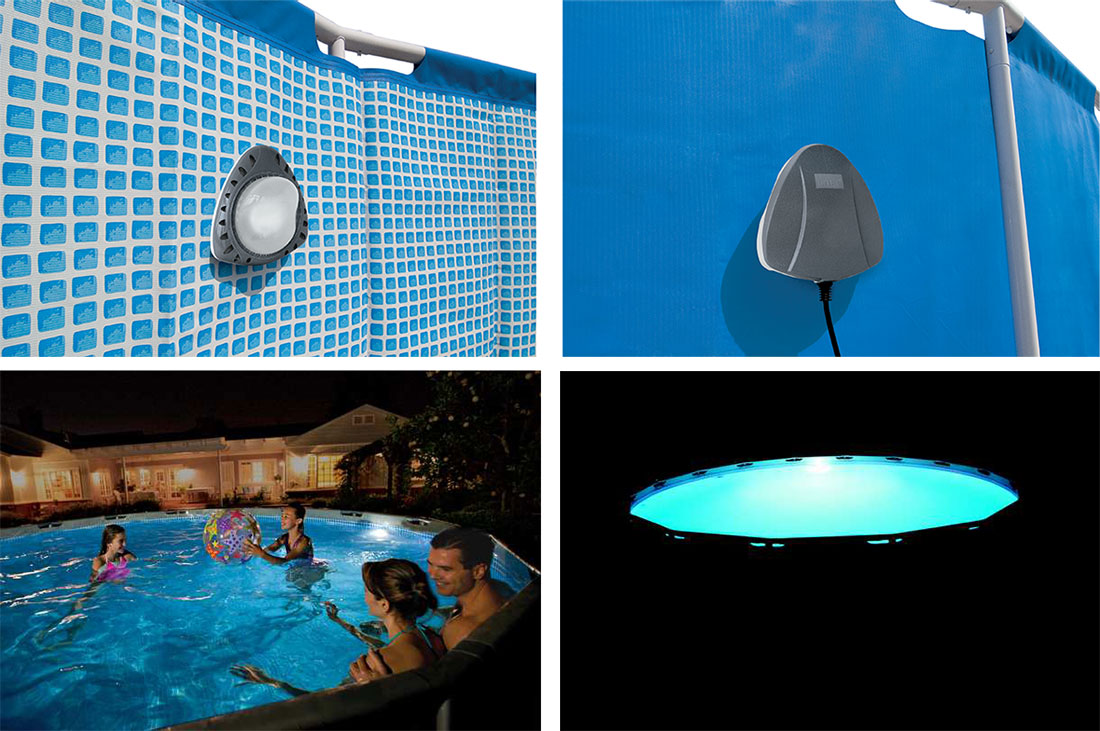 lumiere piscine hors sol magnetique