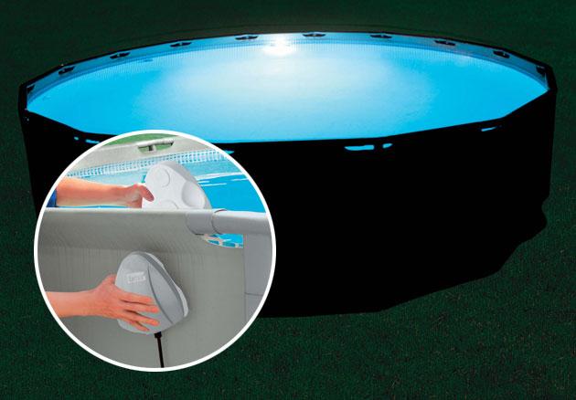 lumiere piscine hors sol sans fil