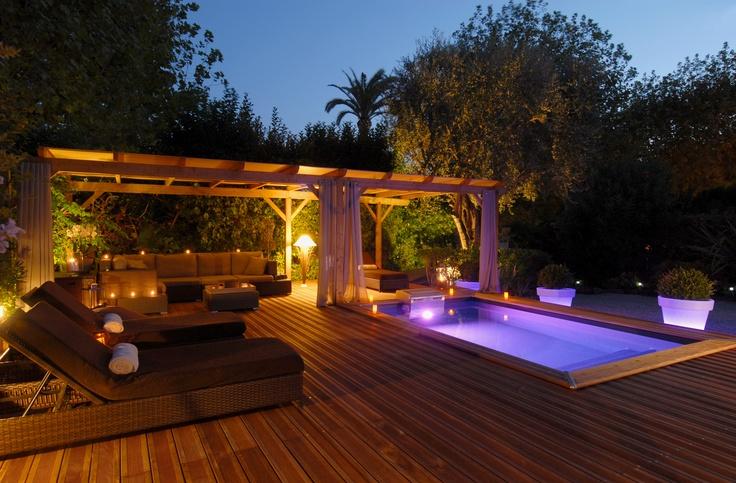 lumiere piscine liner