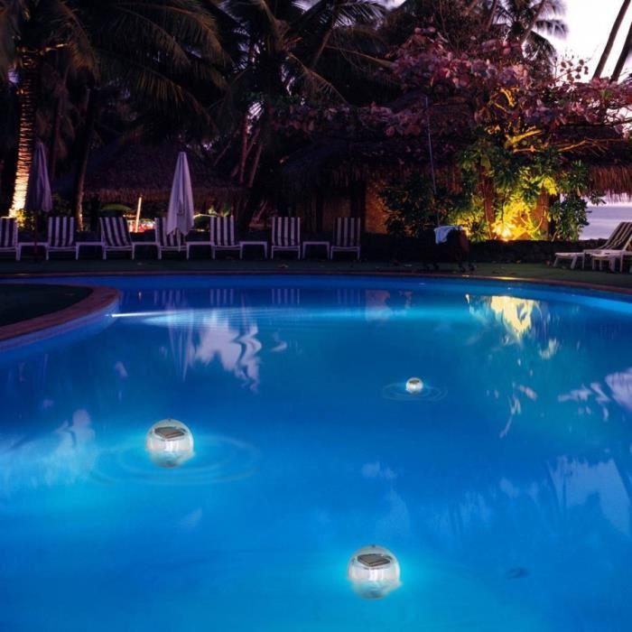 lumiere piscine solaire