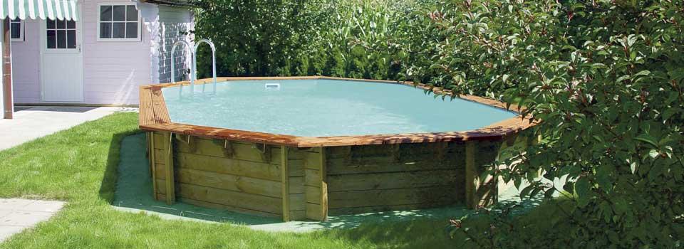 plage piscine bois leroy merlin