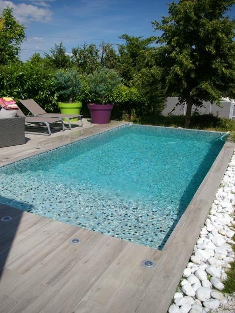 plage piscine cailloux. Black Bedroom Furniture Sets. Home Design Ideas