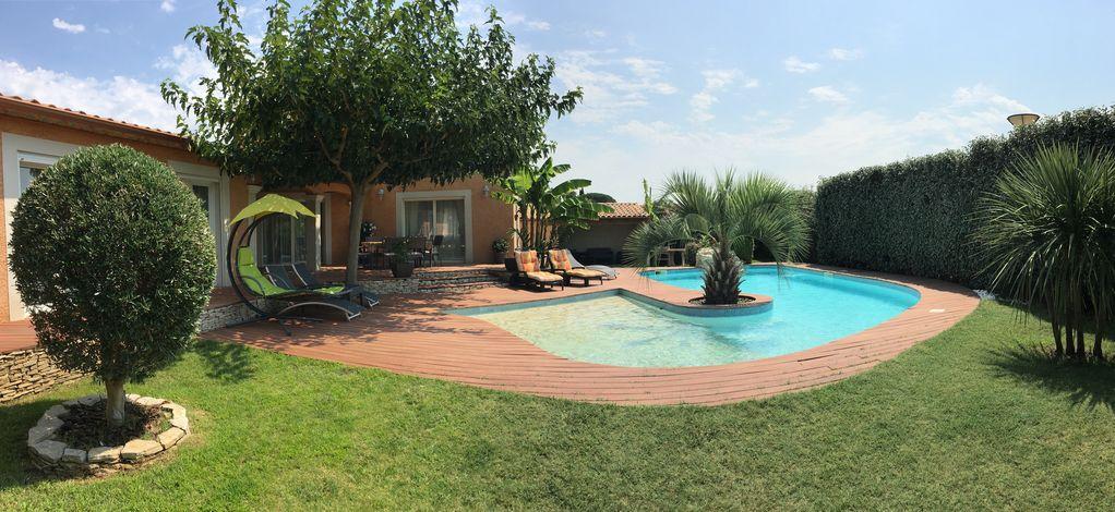 plage piscine californienne