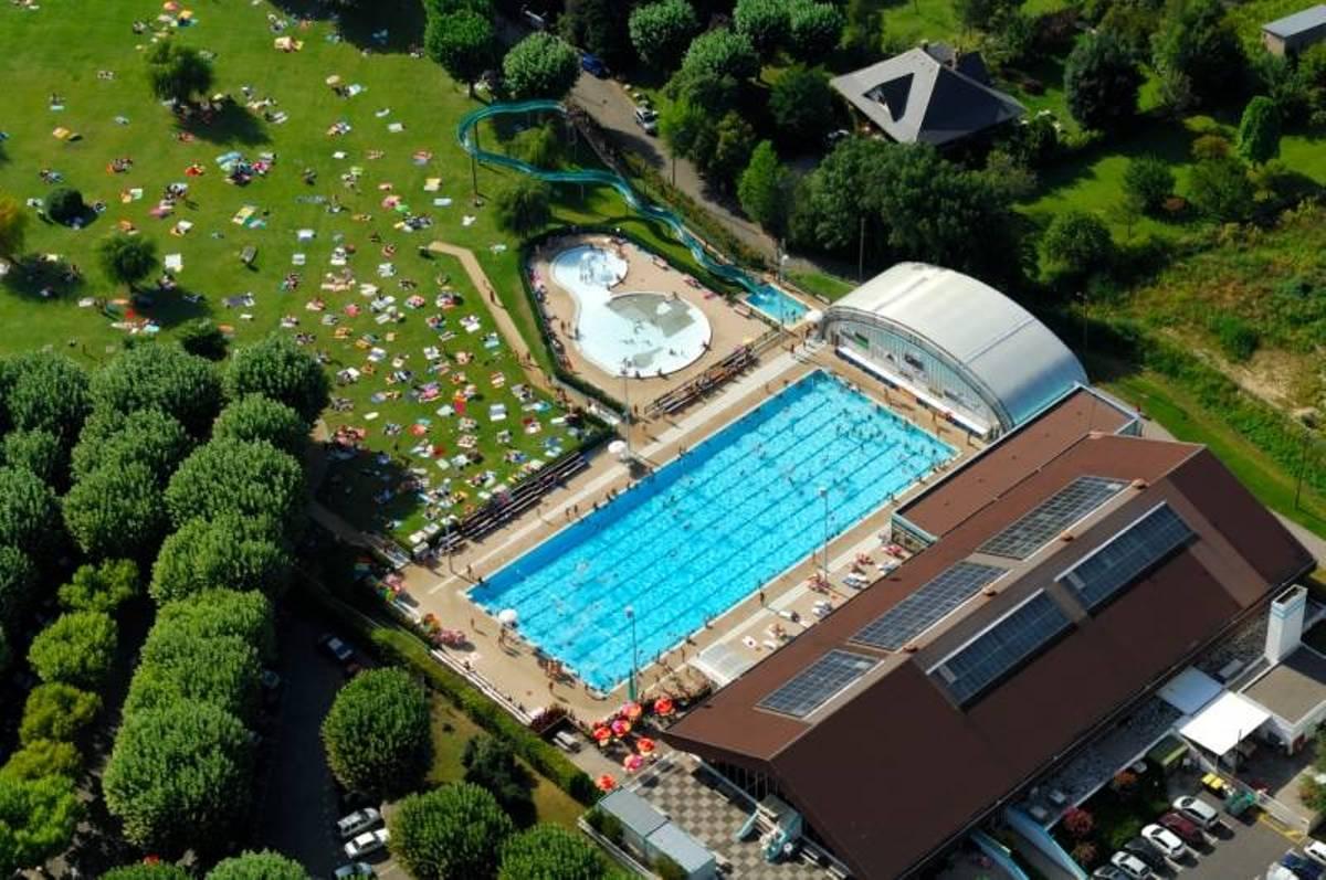 plage piscine d'aix les bains
