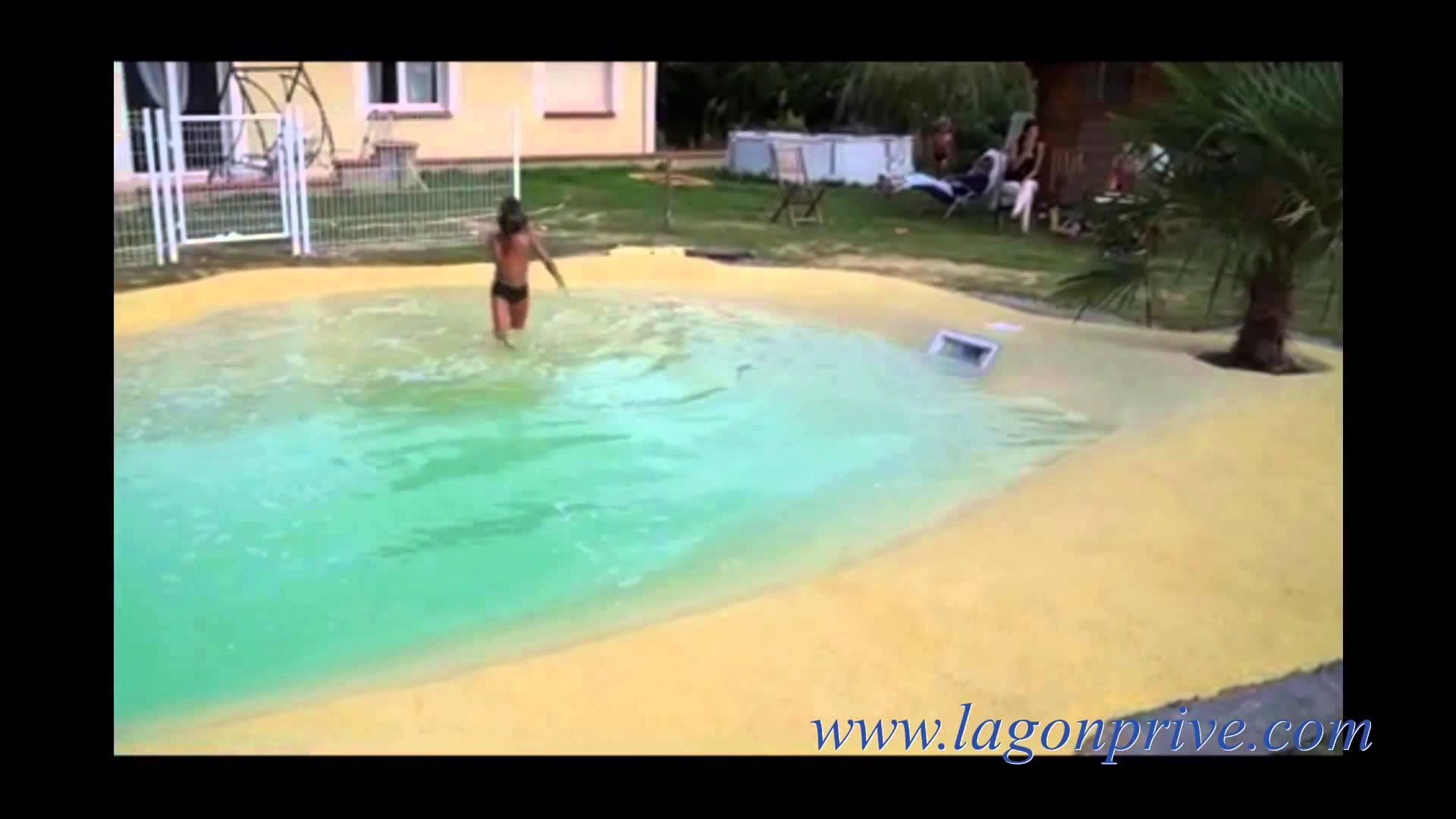 plage piscine gomme