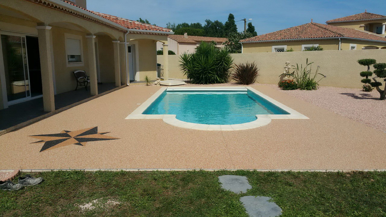 plage piscine marbre