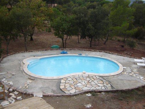 plage piscine opus incertum