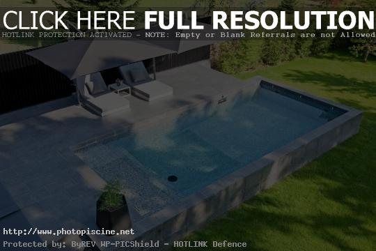 plage piscine originale