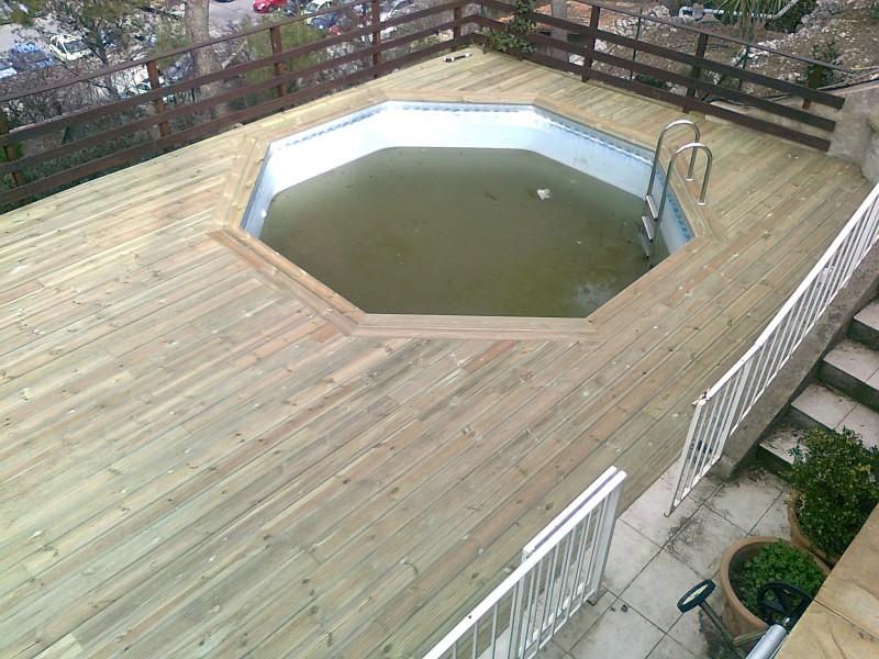 plage piscine pin autoclave