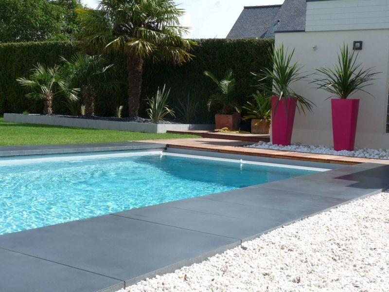 Plage piscine sur gravier - Realiser sa piscine ...