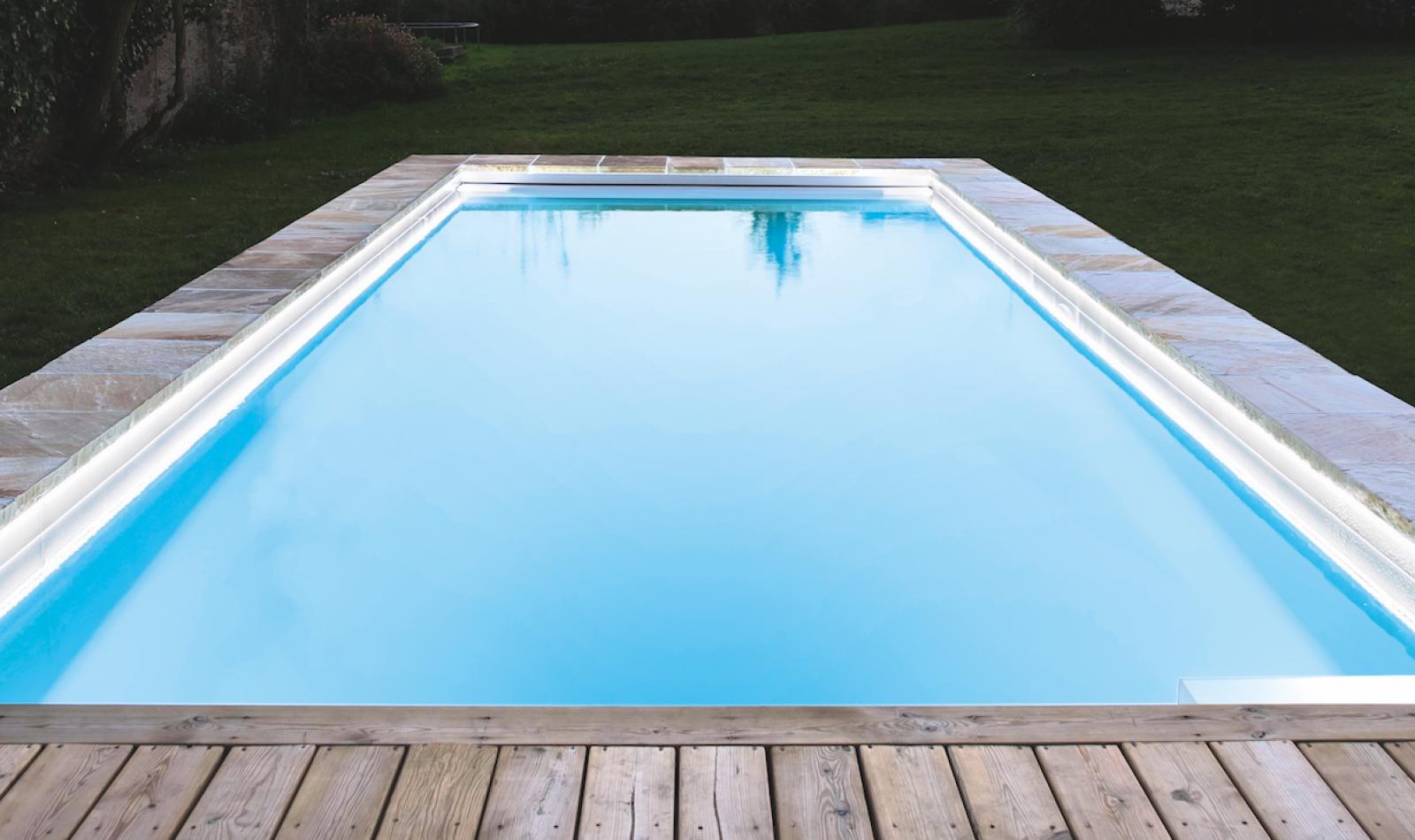 projecteur piscine caron