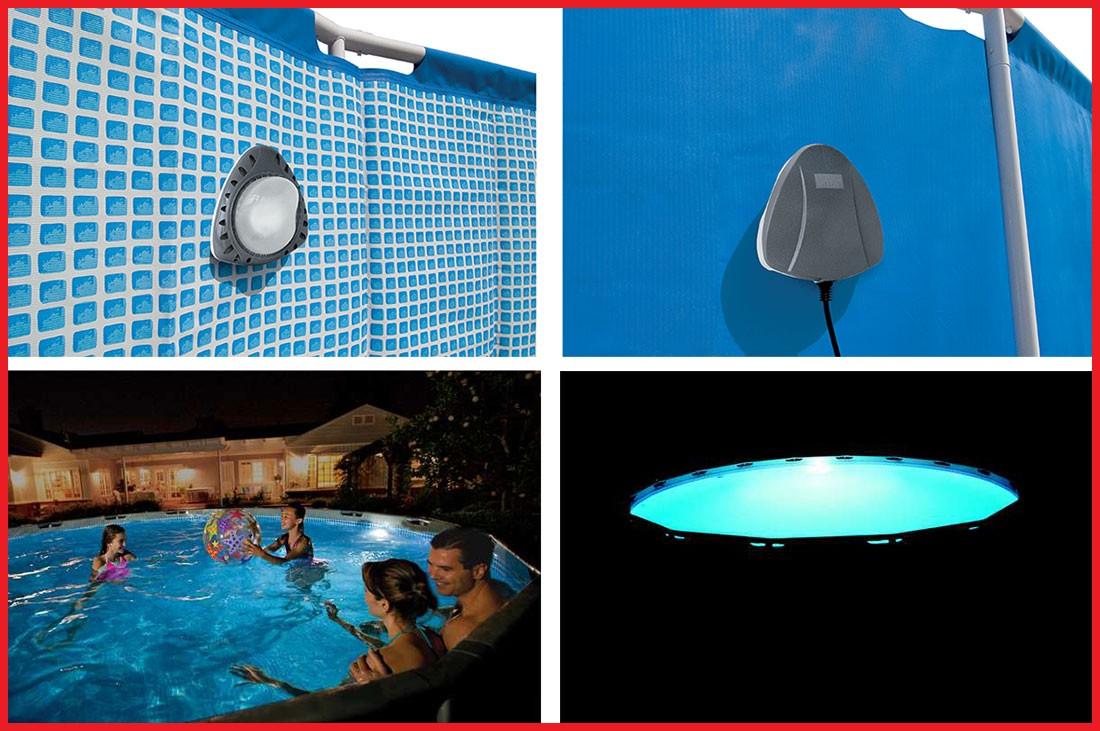 projecteur piscine intex