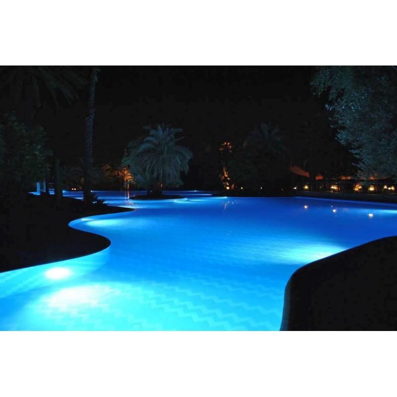 projecteur piscine led multi-couleurs
