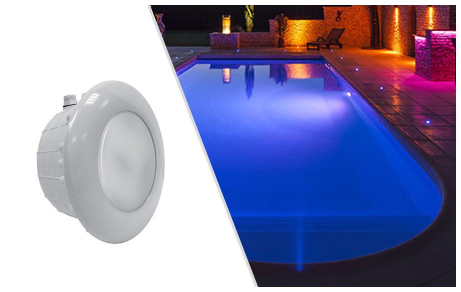 projecteur piscine rgb