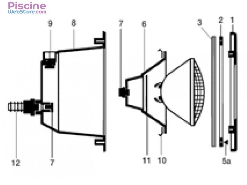 projecteur piscine serie 11